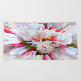 Flowers of  Pure Love Essence Beach Towel
