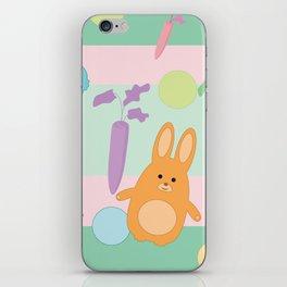 Pastel Bunnies iPhone Skin