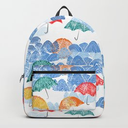 Umbrella Spring Backpack