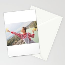 holy river flows happily Stationery Cards