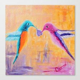 Lover | Amoureux Canvas Print
