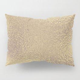 Simply Metallic in Antique Gold Pillow Sham