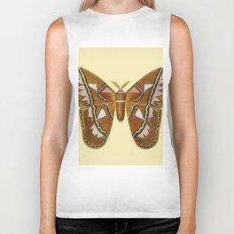 Butterfly Painting Biker Tank