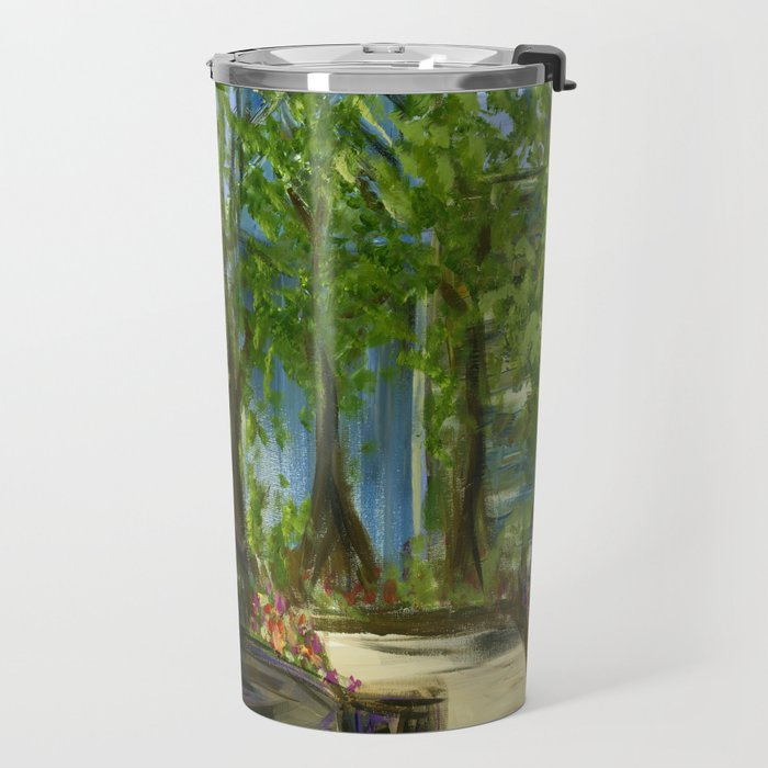 Rittenhouse Square in the Spring Travel Mug