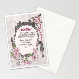 Hanging Sakura - Venus de Vilo Stationery Cards