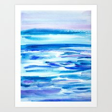 Pacific Dreams Art Print