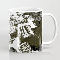 the who Mugs featuring Who by Eternal