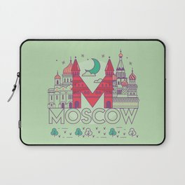 Moscow Russia Laptop Sleeve