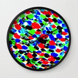 Art Bright Abstract Print Wall Clock