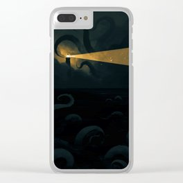 Good job leading that ship onto the rocks dude, high five! Clear iPhone Case