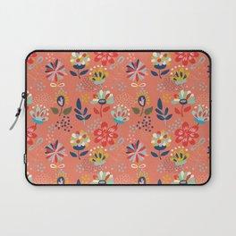 Pretty Floral Laptop Sleeve