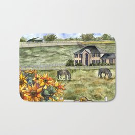 The Horse Ranch Bath Mat