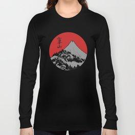 Red Dawn Fuji Long Sleeve T-shirt