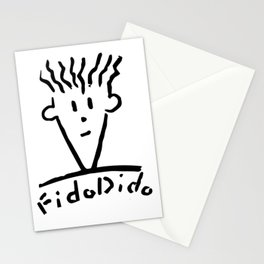 Fido Dido Face Stationery Cards