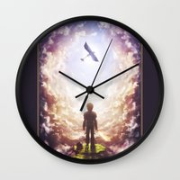 hiccup Wall Clocks featuring How to train your dragon by Westling