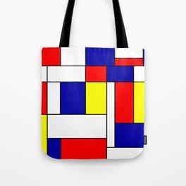 Mondrian #38 Tote Bag