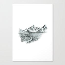 Mountain Sounds Canvas Print
