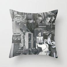 The Machine Throw Pillow