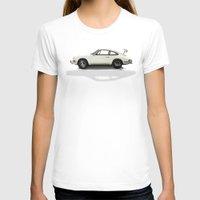 porsche T-shirts featuring Porsche by Tony Vazquez