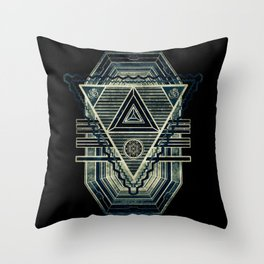 Tesla Portal Dark Throw Pillow