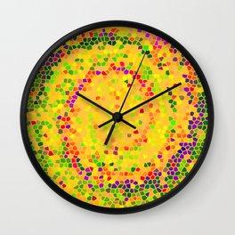 Abstract Mozaik Wall Clock