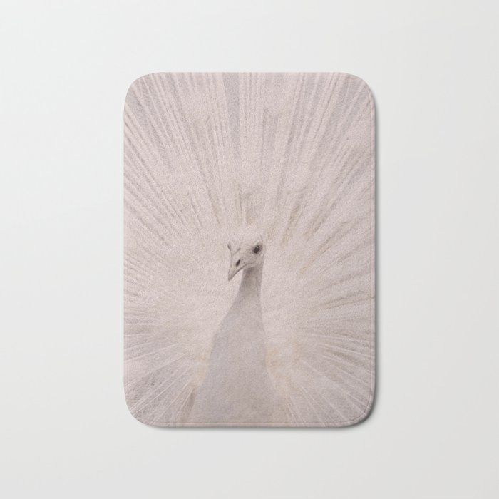 I'm a peacock, you got to let me fly! Bath Mat