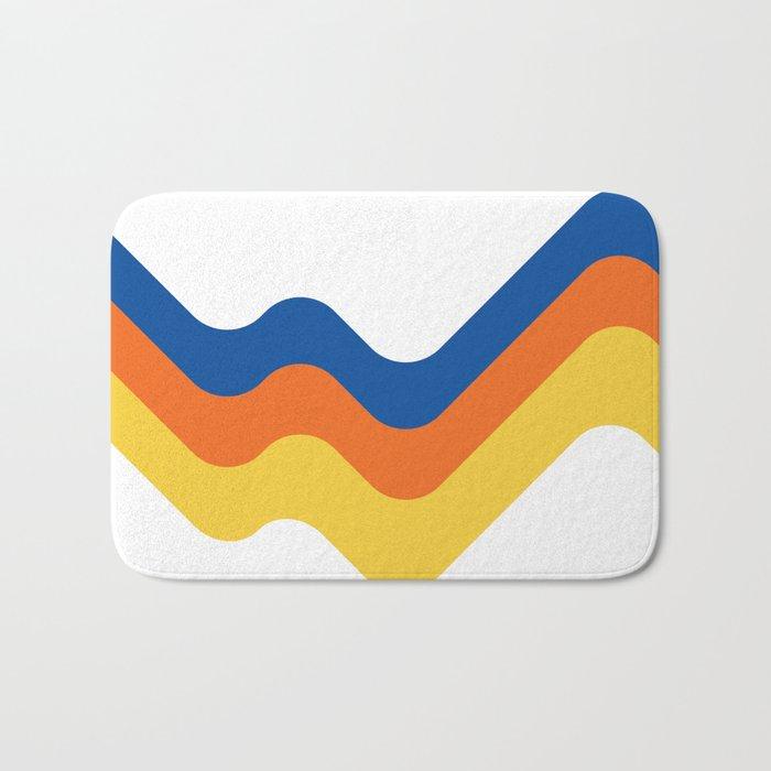 Sound Wave Bath Mat