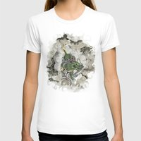 archan nair T-shirts featuring Dragon of The Mist by Michael Hammond