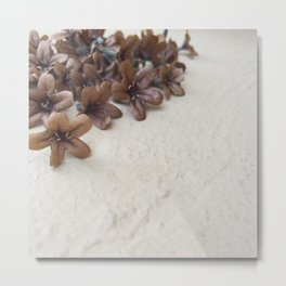Flower Collection Metal Print