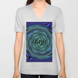 Spiralling out of Control Unisex V-Neck
