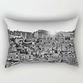 Sassi di Matera: view Rectangular Pillow