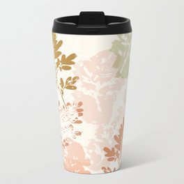 Leaves 1 Metal Travel Mug