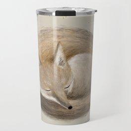 Swift Fox Sleeping Travel Mug