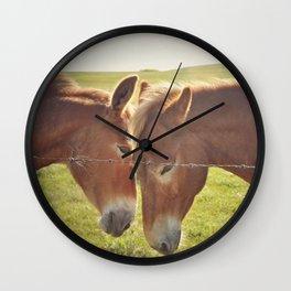 Tender Moments Wall Clock