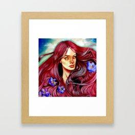 Saffron's Honey Framed Art Print