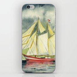 Fair Winds And Following Seas iPhone Skin