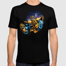 Thanos Black Mens Fitted Tee LARGE