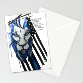 Bold as the Lion Stationery Cards