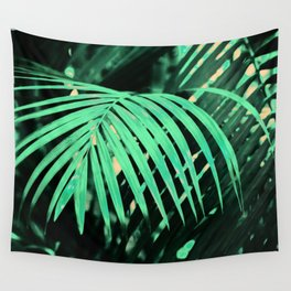 Tropical Jungle Leaves Pattern Wall Tapestry