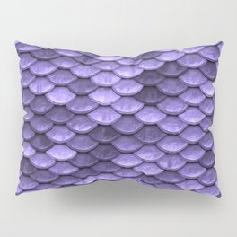 Mermaid Scales Periwinkle Ultra Violet Pillow Sham