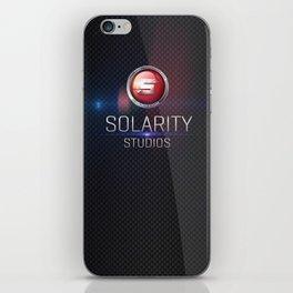 Solarity Studios - Black on White iPhone Skin