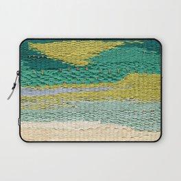 Green Weaving Laptop Sleeve
