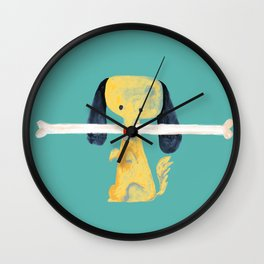 Lucky dog Wall Clock