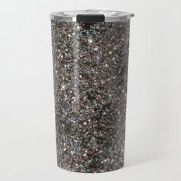 Silver Glitter #1 #decor #art #society6 Travel Mug