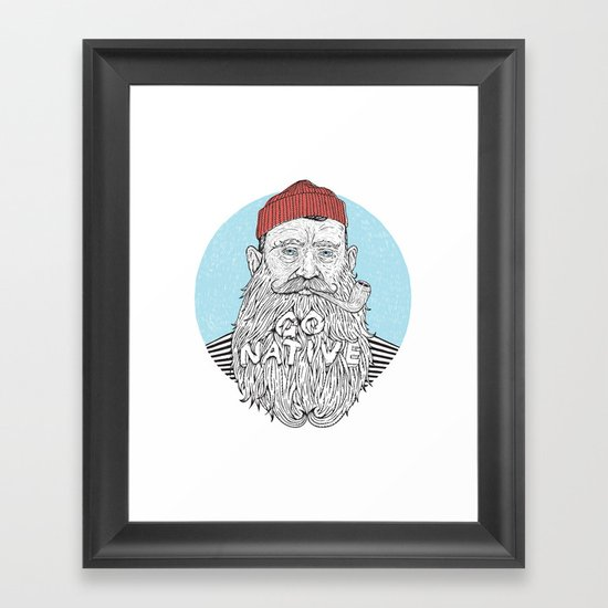 Sailor Framed Art Print