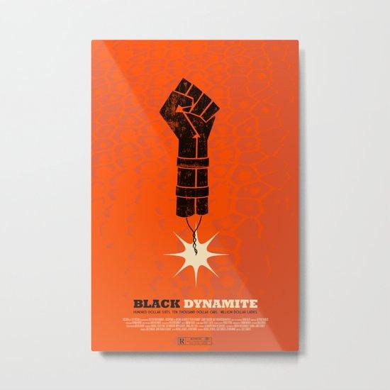 black dynamite. Metal Print