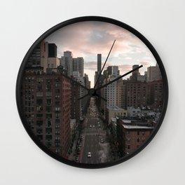 2nd Avenue Wall Clock