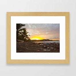 Jacmel Sunrise Framed Art Print