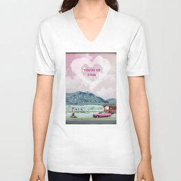 True romance movie print Unisex V-Neck
