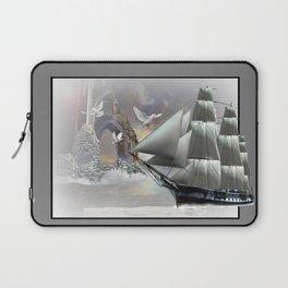 White Sails Laptop Sleeve